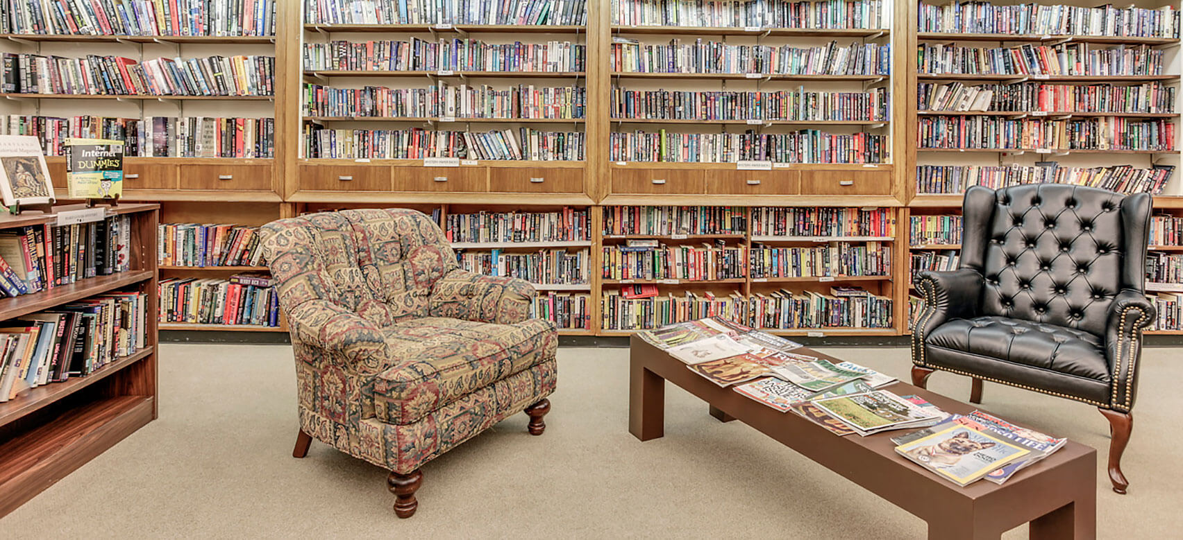Photo: Library